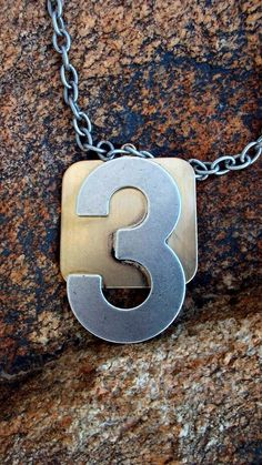 The Number 3 Another Altered Necklace And Bonus by AlteredHead, $23.33