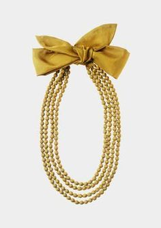 WRAPPED BEAD NECKLACE | TOAST