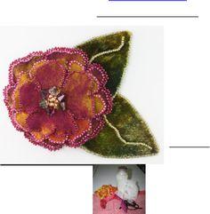 Tutorial. Floral Fantasy Brooch.rev 041310 | Scribd