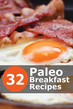 32 Mouth Watering Paleo (and gluten free) Breakfast Recipes. Click the image to get the complete list of recipes! Breakfast And Brunch, Paleo Breakfast, Breakfast Recipes, Breakfast Casserole, Breakfast Ideas, Breakfast Frittata, Mexican Breakfast, Brunch Recipes, Low Carb Paleo
