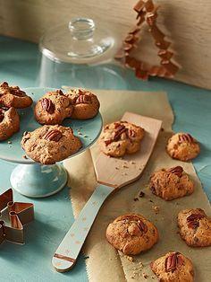 Pecannuss - Kaffee - Cookies - ideal fürs Kaffeekränzchen