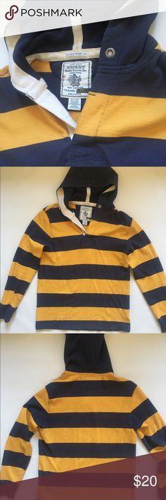 Ralph Lauren Rugby Long Sleeve Hooded Shirt Mint Condition. Nice Soft Touch. Ralph Lauren Shirts Sweatshirts & Hoodies