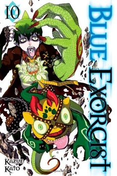 Blue Exorcist, Vol. 10, 2013 The New York Times Best Sellers Manga Graphic Books winner, Kazue Kato #NYTime #GoodReads #Books