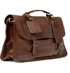 LEATHER Picture Bags   ... Lauren Shoes & Accessories Pre-Aged Leather Satchel Bag   Men's bags