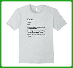 Mens Mom Definition T Shirt - Funny Mother's Day Gift Tee 3XL Heather Grey - Holiday and seasonal shirts (*Amazon Partner-Link)