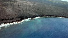 lava flow Hilo HI, from Blue Hawaiian Helicopter