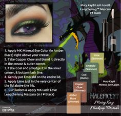 We just love this look! Who's your favorite Disney villain? Order at www.MaryKay.com/ejkearns. Free shipping. No appointment necessary. No stress. No pressure. No strings attached.