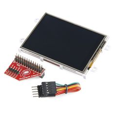 "Raspberry Pi Display Module - 3.2"" Touchscreen LCD - LCD-11743 - SparkFun Electronics"