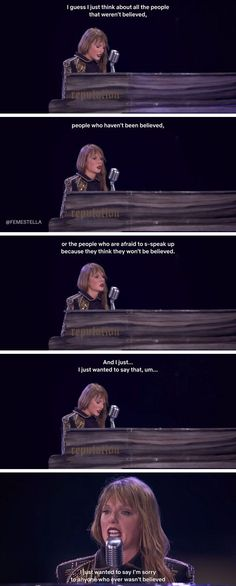 taylor swift inspiring quotes sexual assault miss americana netflix documentary While most are currently obsessed with Taylor's outspoken political views, but nobody is talking about her comments on white privilege. Long Live Taylor Swift, Taylor Swift Quotes, Red Taylor, Taylor Swift Pictures, Taylor Alison Swift, Taylor White, Taylor Swift Wallpaper, Miss Americana, Netflix Documentaries