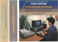 Texas Instruments Home Computer TI Writer Word Processor.