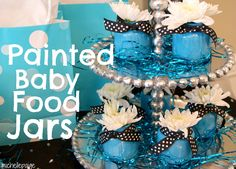 Cute Decoration: Painting baby food jars
