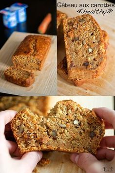 """""""Healthy"""" carrot cake (+ HD video) – Famous Last Words Healthy Carrot Cakes, Healthy Dessert Recipes, Vegan Desserts, Cake Recipes, Breakfast Recipes, Vegan Recipes, Oatmeal Recipes, Sweet Recipes, Food And Drink"""