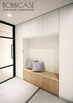 Home Entrance Decor, House Entrance, Home Office Decor, Home Decor, Ikea Wardrobe, Minimal Kitchen, Extra Rooms, Wall Shelves, Mudroom
