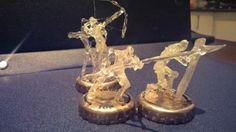 PAWN-3 hot glue sculpture