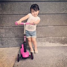 Scooting our way into the long weekend!  Kids   Outdoor activities   Parenting   Toys   Scooter   Kids scooter   Yvolution   Mother   Toddler   Y Glider