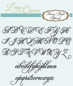 Fancy Script Monogram Name Wall Decal