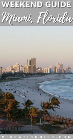Itinerary: What to do in Magic Miami in 2 days The best things to do in Miami Florida. What to do when you have just a weekend in Miami where to eat where to stay and day trips from Miami! - Travel Miami - Ideas of Travel in Miami Florida Travel, Miami Florida, Travel Usa, Globe Travel, Miami Beach, Epcot, Universal Studios, Key West, Weekend In Miami