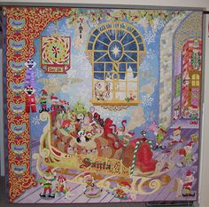 Mary Buvia, Quilts  October 26 & 27th Master Quilter, Mary Buvia, will be at Creative Sewing Design to teach.  This pic is of her quilt that won Master Quilter among other awards. She has written a book around this quilt and we were able to only order 12 which we have done.