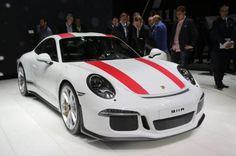El #Porsche 911 R, presentado en el Salón de Ginebra 2016 #Porsche911R #Porsche911 Porsche #motor #autos #coches