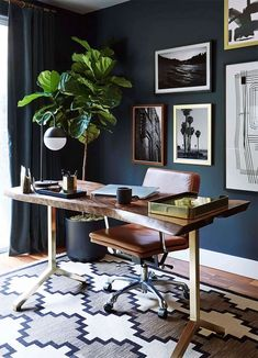 Home Office Design Ideas For Men Pin Roomaniac On Interior And Furniture Designs In Home Office Design Ideas For Men Home Decor Men Office Home Office Design Ideas For Men. Home Office Design Ideas For Men Pin Home Decor… Continue Reading → Masculine Office Decor, Masculine Home Offices, Masculine Style, Home Office Furniture, Home Office Decor, Diy Home Decor, Office Ideas, Men Office, Office Rug