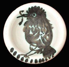 Cerámica - Pablo Picasso - Oiseau au ver