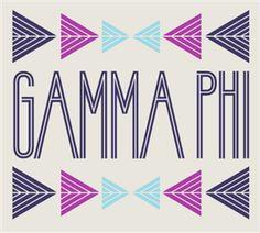 Gamma Phi Beta | Design Archive | Kotis Design Gamma Phi Beta, Phi Mu, Delta Gamma, Sorority Life, Sorority Shirts, A Table, Shirt Designs, Archive, Philanthropy Ideas