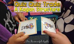 The Resourceful Apple: Quiz-Quiz-Trade: A Kagan Structure