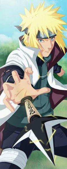 Minato Namikaze, Fourth Hokage Yellow flash of hidden leaf Naruto Minato, Sasuke Sakura, Hinata, Naruto Shippuden Anime, Naruto Art, Itachi, Sasuke Sarutobi, Manga Anime, Manga Naruto