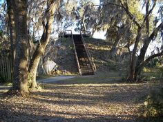 Crystal River Indian Mounds in Citrus County, Florida.