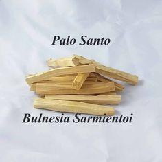 Palo Santo - Bulnesia Sarmientoi - Lemn din America de Sud Cantitate aprox. 12 g (2-3 bete)Bulnesia Sarminetoi (Palo Santo - lemn sfant) este un copac de talie mare, cu crestere lenta, in America de Sud, din sud estul Boliviei pana in vestul Paraguaiului. Lemnul acestui copac este de esenta tare