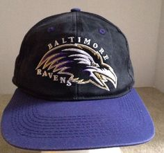 55cbe73c93c Nfl Vintage Baltimore Ravens Snapback Hat  BaltimoreRavens Snap Backs