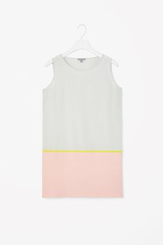 Inspired by Agnes Martin - COS | Silk and cotton dress