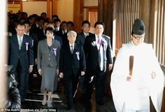 Further straining fraught regional ties: Yesterday a Japanese cabinet minister and some 15...