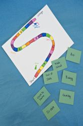 High School Study Skills Activities: Design a Road to College Board Game