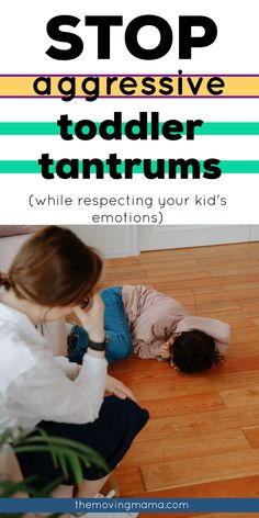 Learn here exactly how to stop toddler tantrums becoming aggressive and to handle them like a calm parent would. Toddler discipline doesn't have to make you yell and scream to get your point across to your toddler, and you can guide them to learn to express their big emotions in appropriate ways. Say goodbye to the aggressive toddler tantrums that are tiring you out. Toddler Behavior, Toddler Discipline, Emotional Child, Terrible Twos, Gentle Parenting, Kids, Young Children, Boys, Children