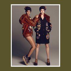 Natasha Poly, Lara Stone, Joan Smalls   More for Vogue Japan September 2017