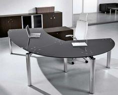 executive glass office desk. Contemporary Executive Glass Office Desk