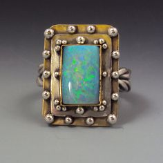 New opal ring by Dana Evans.