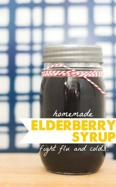 Get a head start on cold and flu season with #homemade #Elderberry syrup from @HappyMoneySaver.