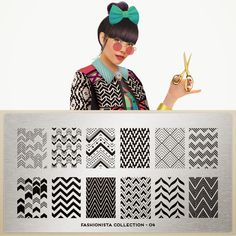 Hot Off The Stamping Press: MoYou London Fashionista Collection!