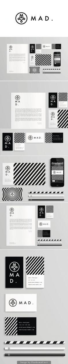 M A D . - Excelente imagen y papelería corporativa