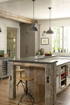 Experiment With Wood  - CountryLiving.com
