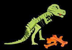 Dinosaurier aus Papier