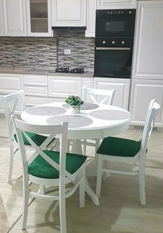 Chairs and tableGhera table with chairs made by Mobirom in Europe. Our chairs and tables are made of beech wood Table Dimensions, Table And Chair Sets, Furniture Sets, Minimalism, Upholstery, Dining Chairs, Wood, Home Decor, Tapestries