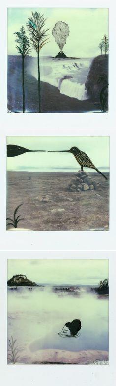 altered polaroids by daniela tieni ... <3 !