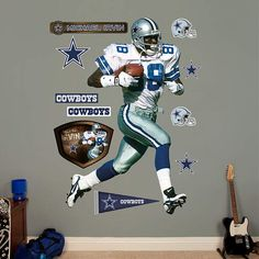 Fathead Dallas Cowboys Michael Irvin Wall Graphic - Wall Sticker Outlet