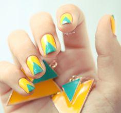 Inspirações de unhas para a Copa