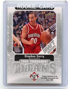 2009-10 U.D. DRAFT EDITION #TT-SC STEPHEN CURRY  MINT FROM PACK…