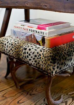#tijgerprint op je #stoel #stoel #stofferen