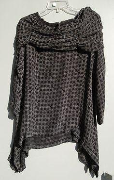 DRESS TO KILL BLOUSES ARTSY JANE MOHR LAGENLOOK | eBay